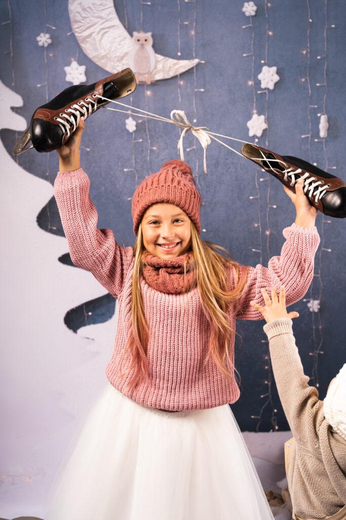 Zimowa sesja świąteczna Stargard Szczecin